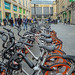 Hire Bikes.....Clayton Street, Newcastle
