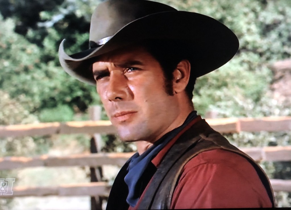 "Robert Fuller in ""Wagon Train."" Episode  The Michael Malon…  a8fef90e0e2"