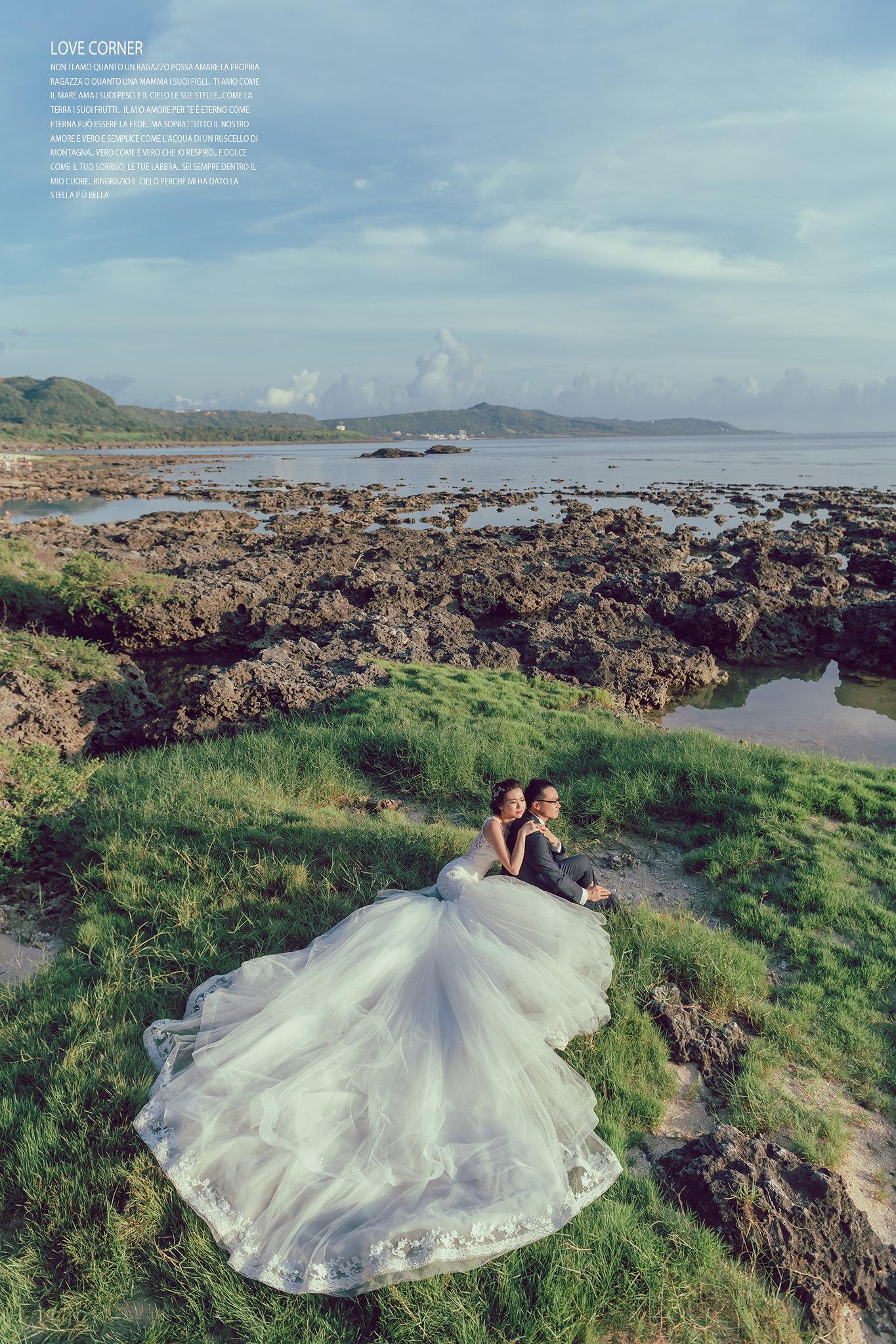 墾丁婚紗景點|森林系|海邊|愛情街角|澤于