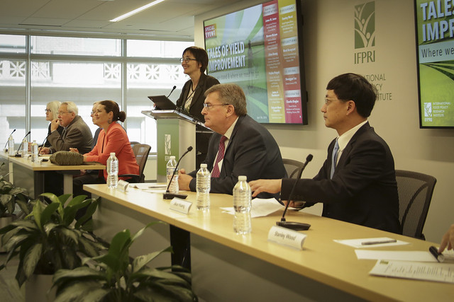 IFPRI: Special Event, Tales of yield improvement