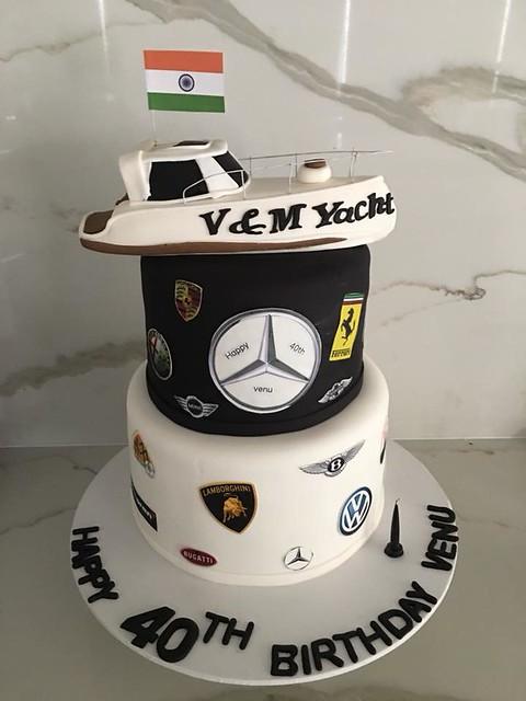 Cake by Korina Cupcakes