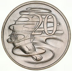 Australia 20c 1966