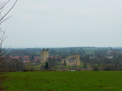 Coming into Helmsley