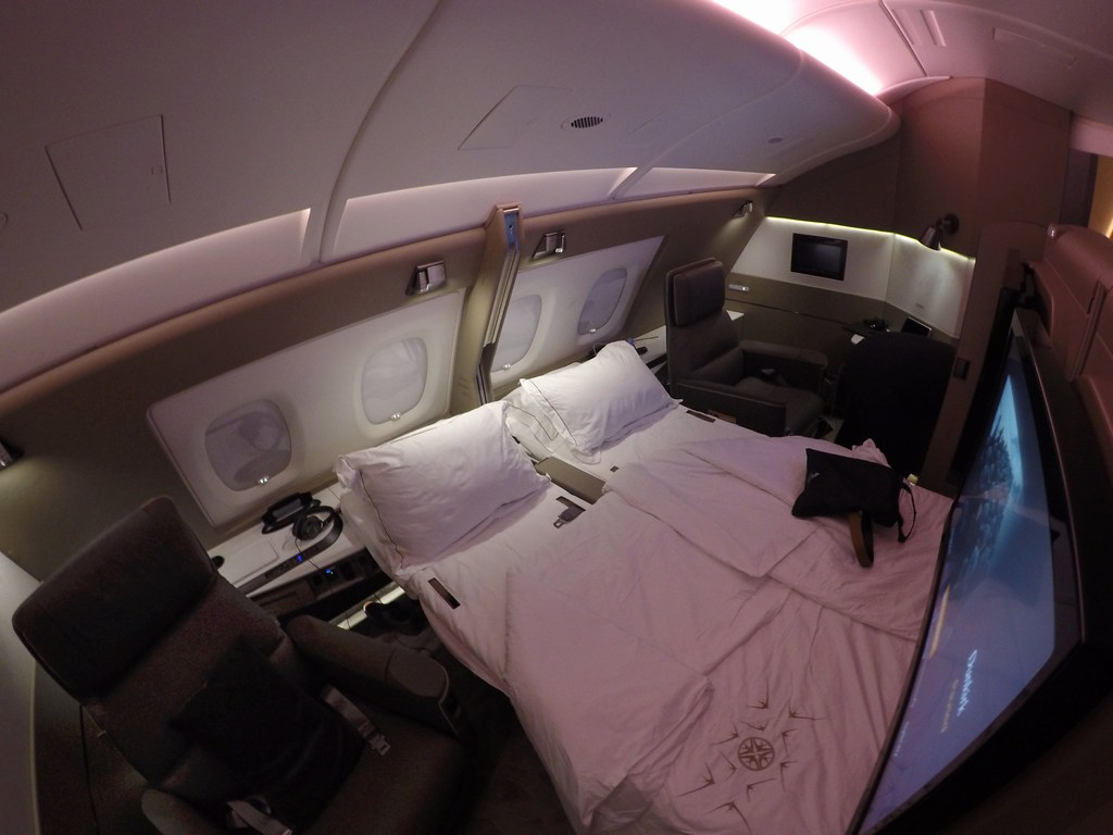Singapore Airlines First Class Suites 85