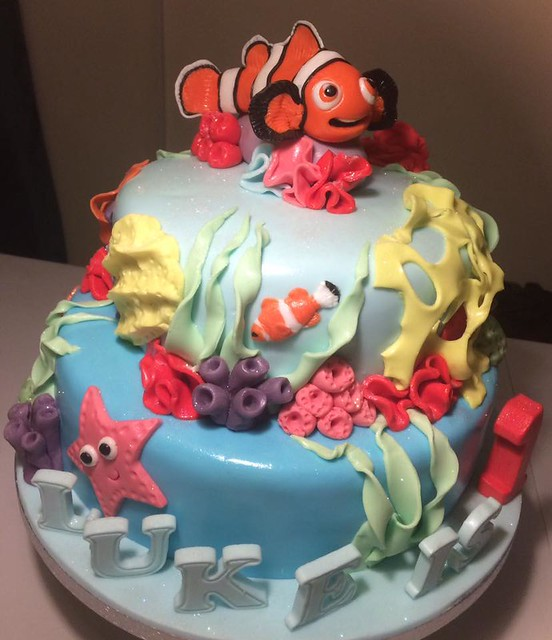 Under The Sea Cake By Bates Robinson Nanny