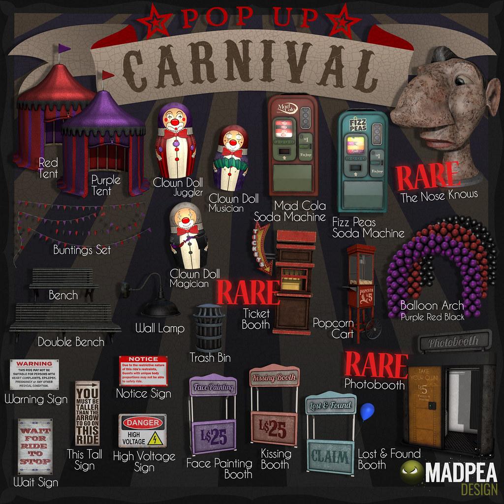 MadPea Pop Up Carnival Gacha Key - TeleportHub.com Live!