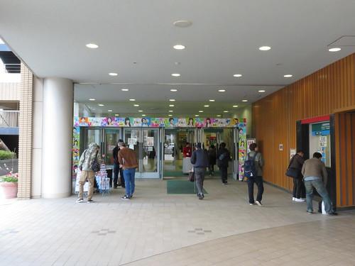 福島競馬場の南口1階