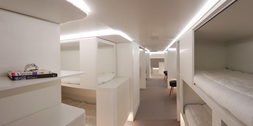 Airbus envisage de mettre des passagers dans la soute à bagages