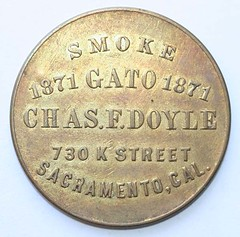 1914 Baseball Schedule Token obv
