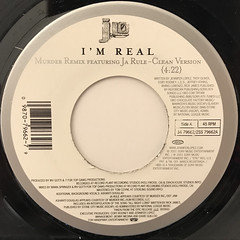 J.LO:I'M REAL(LABEL SIDE-A)
