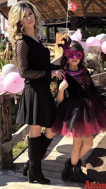 Gardrop Giyim'in sahibi Ferhan Demir'in kızı Çisem'in doğum günü