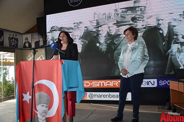 CHP Kadın Kolları İl Başkanı Nilüfer Deveci, CHP Kadın Kolları Başkanı İlçe Başkanı Şaduman Tığlı