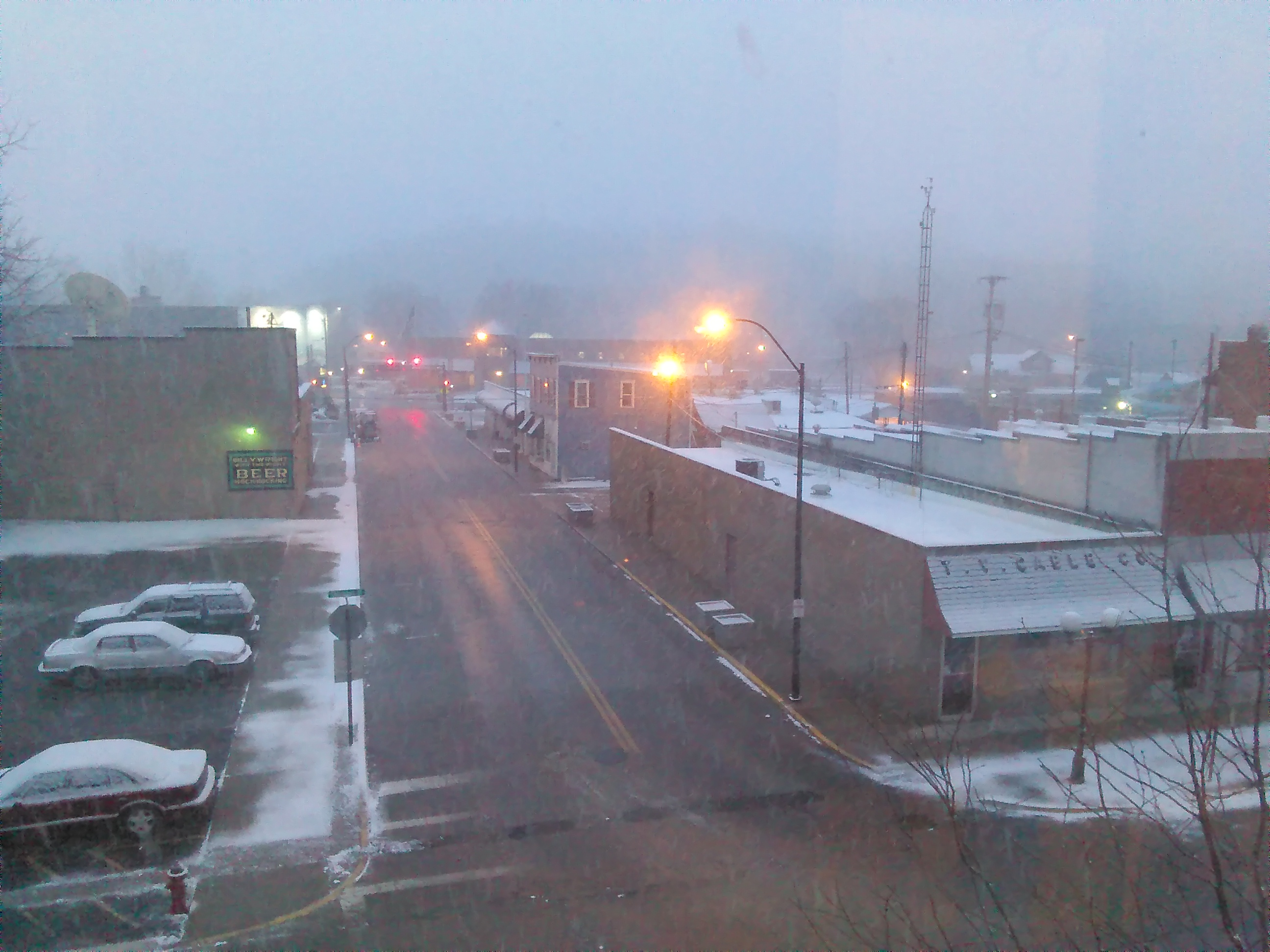 Nelsonville Snow 3-8-2018 6-52-04 AM