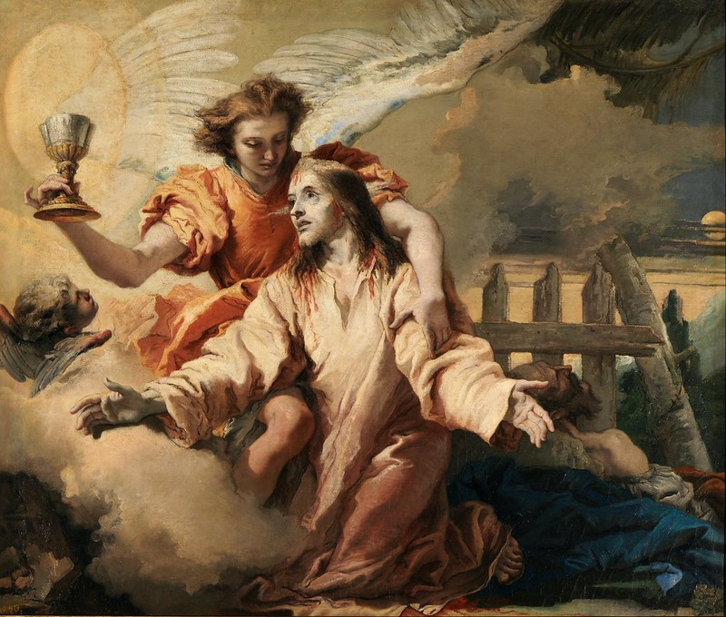 Giovanni Domenico Tiepolo - La Oración en el Huerto (1772)