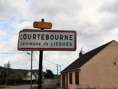 Licques Courtebourne city limit