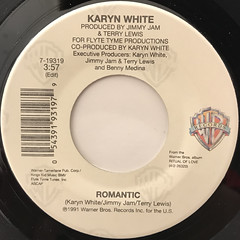 KARYN WHITE:ROMANTIC(LABEL SIDE-A)