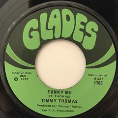 TIMMY THOMAS:WHY CAN'T WE LIVE TOGETHER(LABEL SIDE-B)