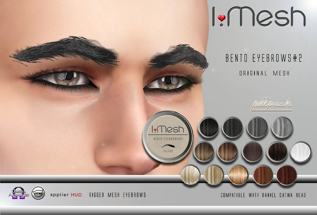 BENTO Eyebrows#2 - TeleportHub.com Live!