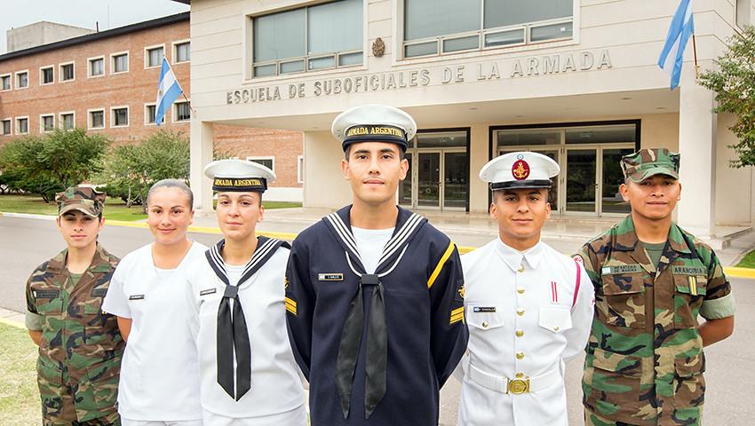 Inscripción Escuela de Suboficiales de la Armada