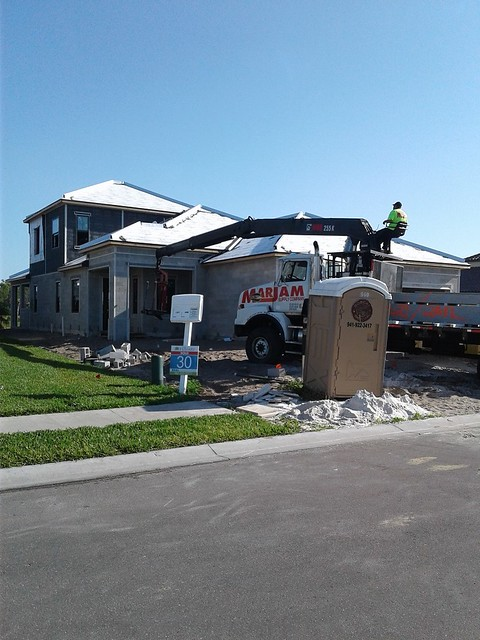 Drywall delivery!