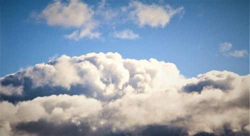 Dans les nuages...