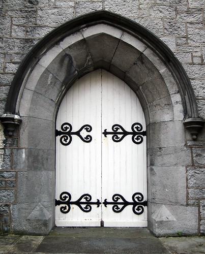 Door in Galway, Ireland
