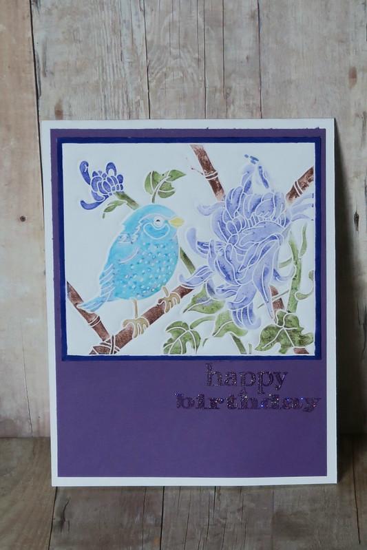 Blue Bird Birthday
