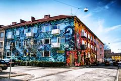 Public art/street art/graffiti