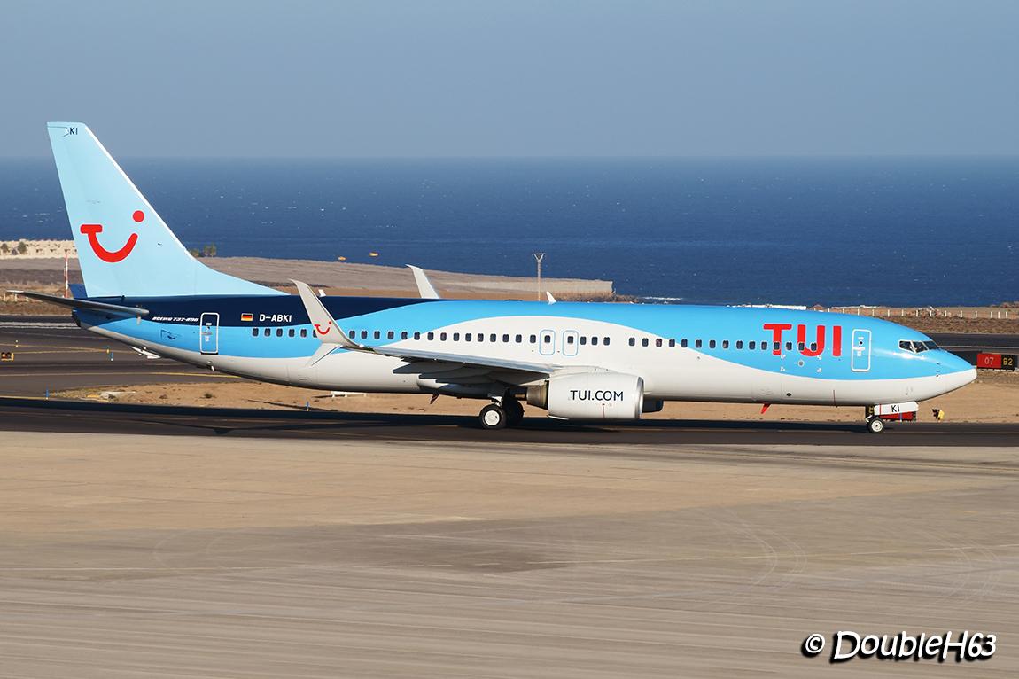 D-ABKI B738 TUI TFS
