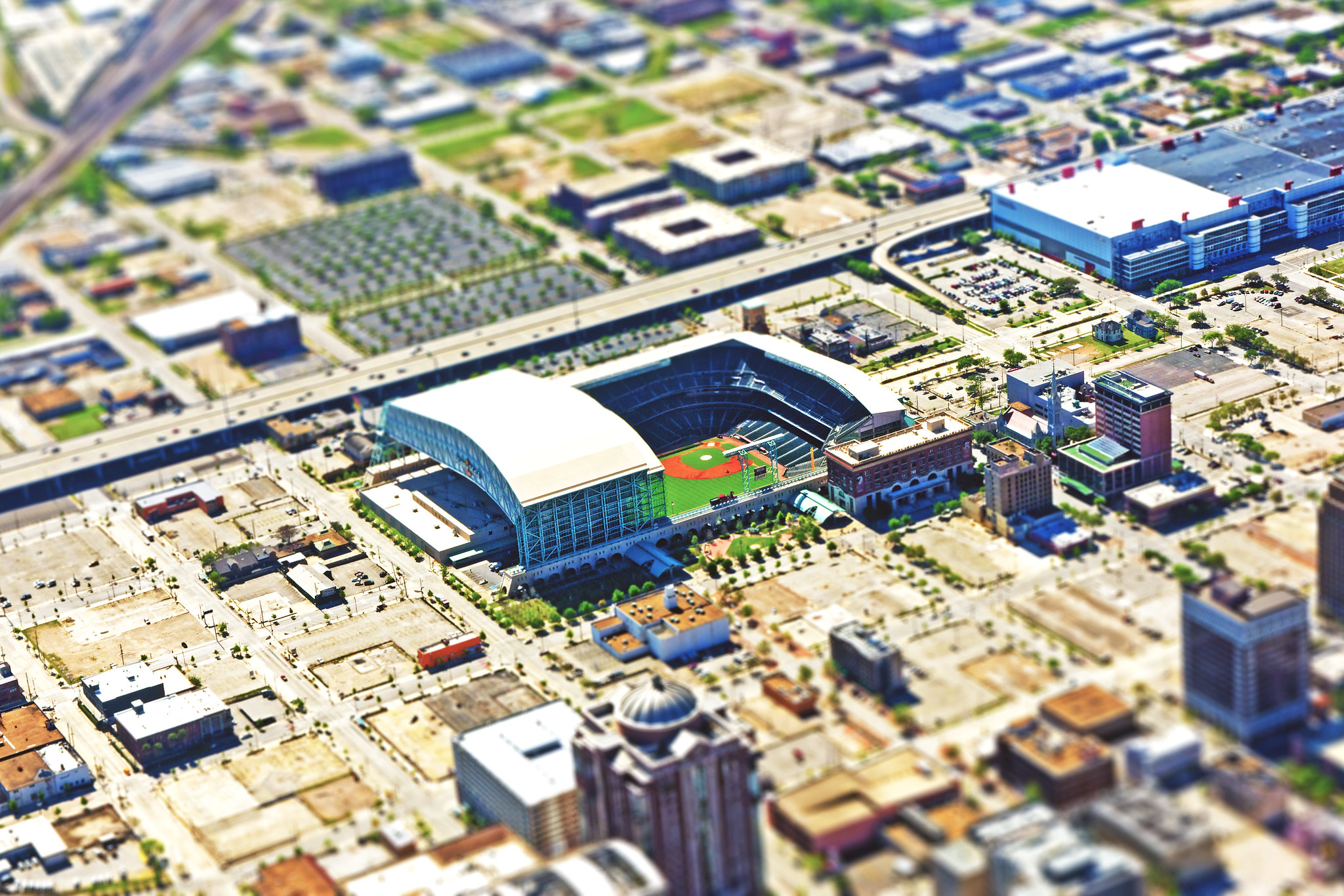 Miniature Minute Maid Park