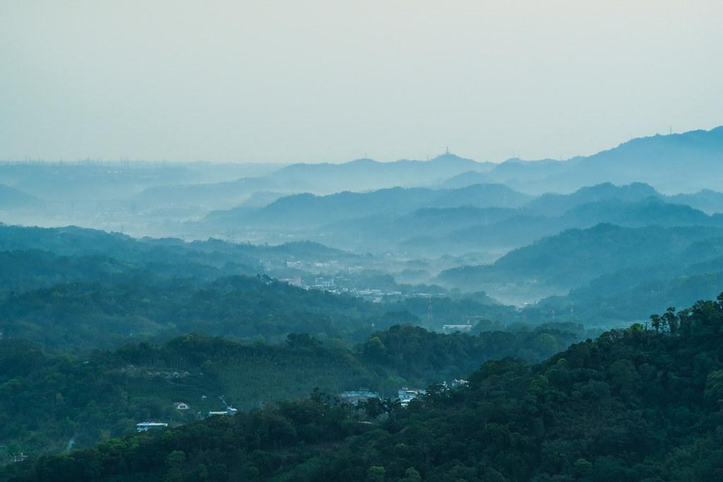 新竹大山背の景色