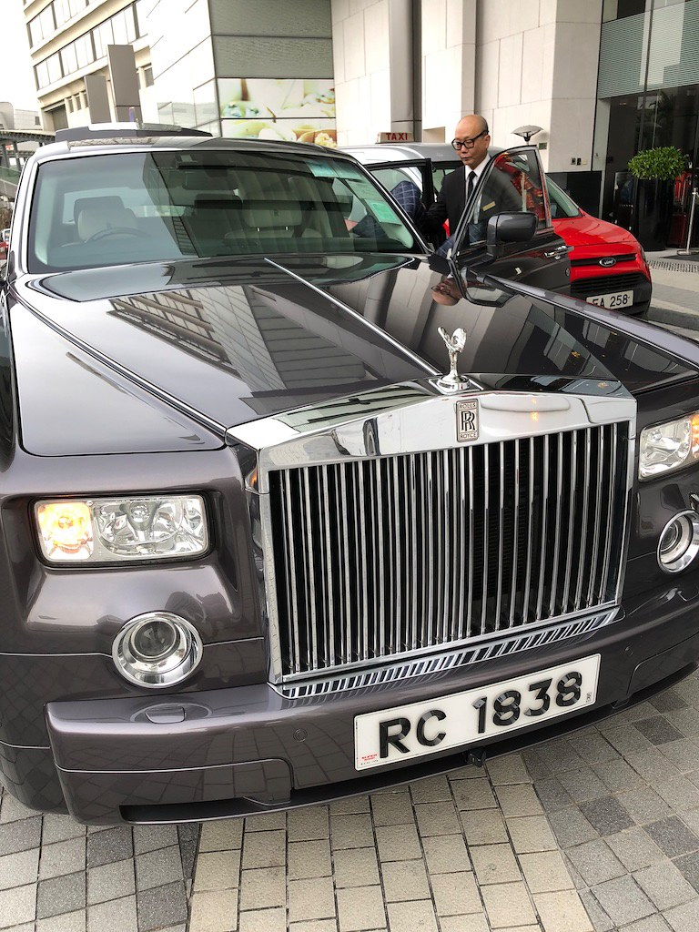 Rolls Royce Ritz-Carlton Hong Kong 13