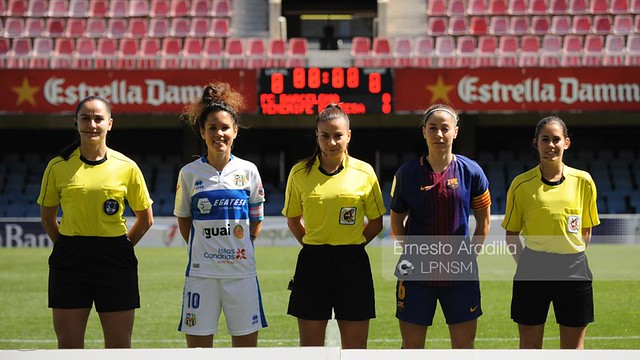 FC Barcelona - Granadilla Tenerife (1-4-2018)