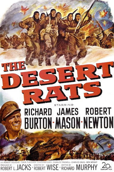 The Desert Rats - Poster 1