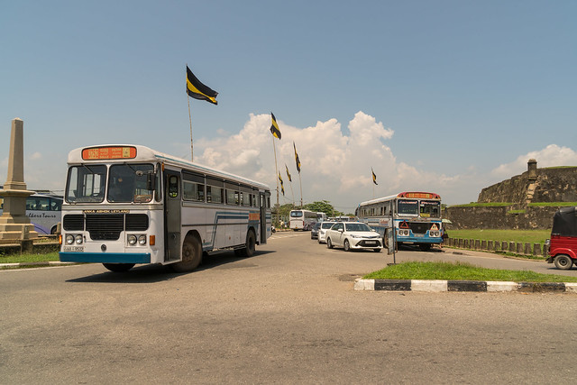 Busses Near the Central Bus Stand