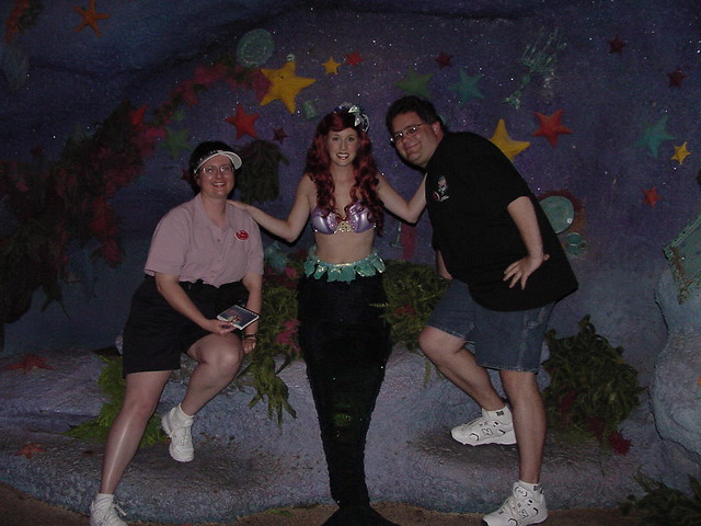 Tracey and Scott with Ariel