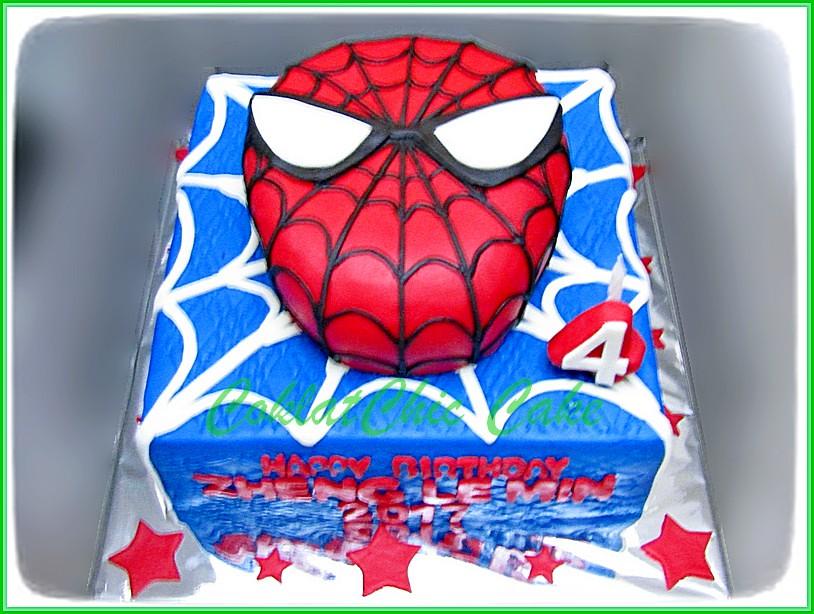 Cake S piderman ZHENG LE MIN 22 cm