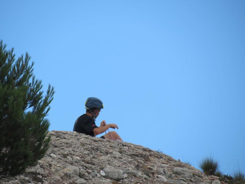 Escaladores en montañas de MontserratMiranda de Sant AntoniIMG_2626