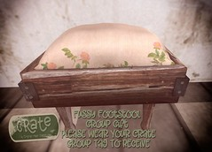 crate Fussy Footstool Group Gift 01