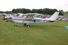 G-BFSS Reims-Cessna FR172R (0167) Popham_080810