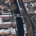 Foundry Bridge in Norwich - Norfolk aerial
