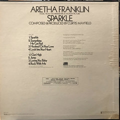 ARETHA FRANKLIN:SPARKLE(JACKET B)