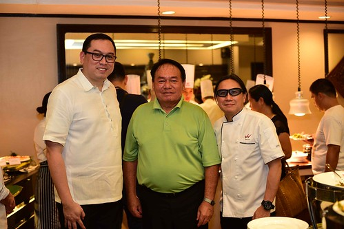 Waterfront Insular Hotel Davao Filipino Food Fiesta dinner buffet starting April 1, 2018 - HM Bryan Lasala, DOT XI RD Antonio Fernando Blanco and Chef Lau | WIHD photo