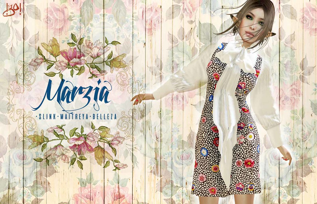 !gO! Marzia bow dress - Vendor - TeleportHub.com Live!