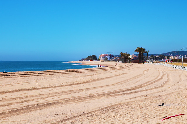Spain costa brava beach