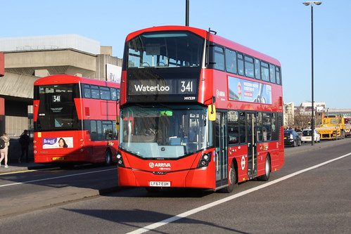 Arriva London HV339 LF67EUH