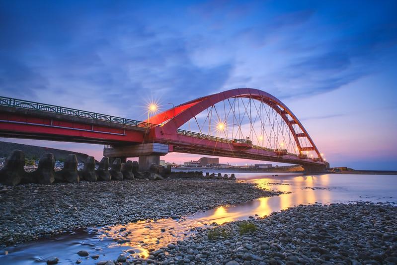 彩虹橋日落