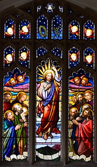 Ascension of Christ (Louisa Beresford for O'Connor and Taylor, 1870s)
