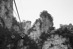 Zhangjiajie in Black and White - 2018