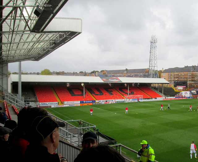 West Stand, Tannadice Park, Dundee